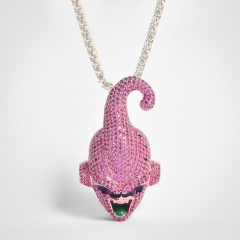 Rose Gold Kid Buu Pendant - Jeupeter